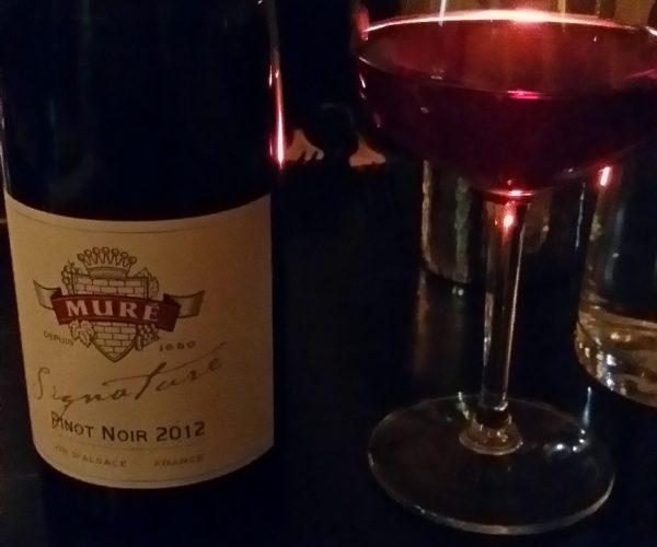 René Muré Pinot Noir Cuvée Signature Alsace 2012