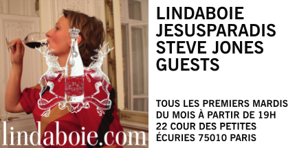 Lindaboie at jesusparadis with Steve Jones