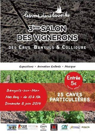 Banyuls-sur-Mer, 8 juin, Le Vin dans les Voiles, 3ème Salon de Vignerons des Crus Banyuls et Collioure THE VOLATILE