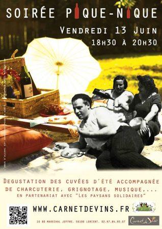 SoIrée Pique-Nique Lorient The Volatile